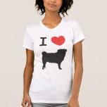 I love Pugs T-shirts