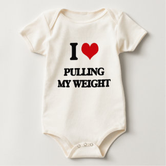 I Love Pulling My Weight Romper