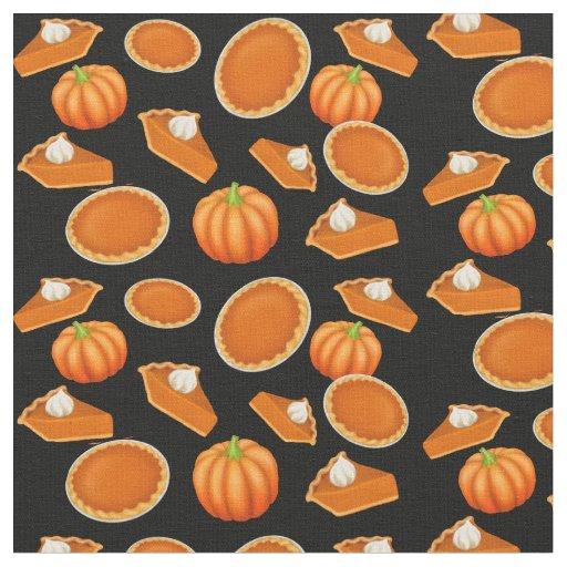 I Love Pumpkin Pie Fabric