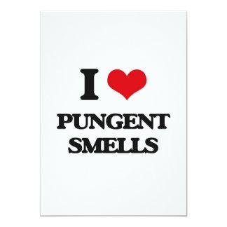 I Love Pungent Smells 13 Cm X 18 Cm Invitation Card