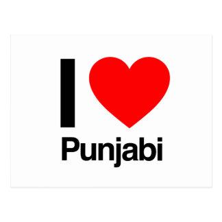 i love punjabi post card