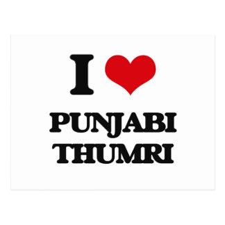 I Love PUNJABI THUMRI Postcard