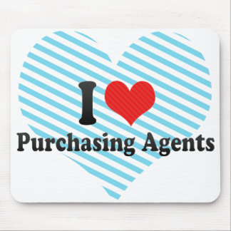 I Love Purchasing Agents Mouse Pad