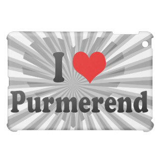 I Love Purmerend, Netherlands iPad Mini Cases