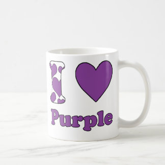 I love Purple Coffee Mug