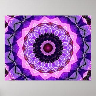 I Love Purple Digital Art Posters
