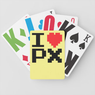 I Love PX Poker Deck