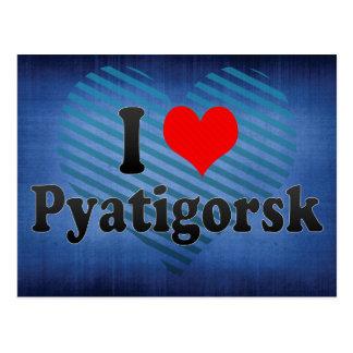 I Love Pyatigorsk, Russia Postcard