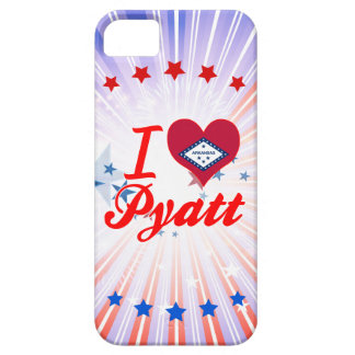 I Love Pyatt Arkansas iPhone 5 Cover
