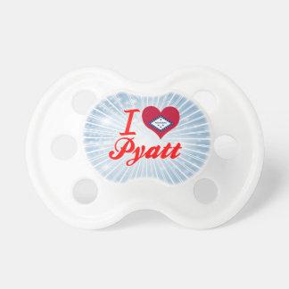 I Love Pyatt Arkansas Baby Pacifier
