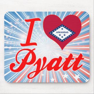 I Love Pyatt Arkansas Mouse Pads
