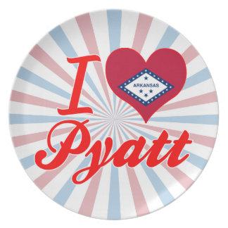 I Love Pyatt Arkansas Dinner Plate