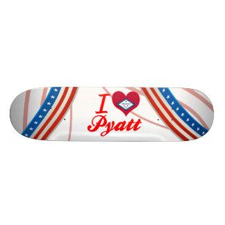 I Love Pyatt Arkansas Custom Skate Board