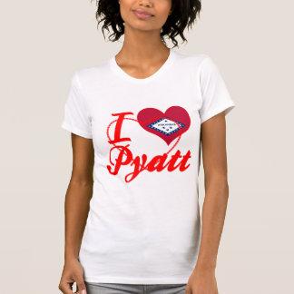 I Love Pyatt Arkansas Shirts