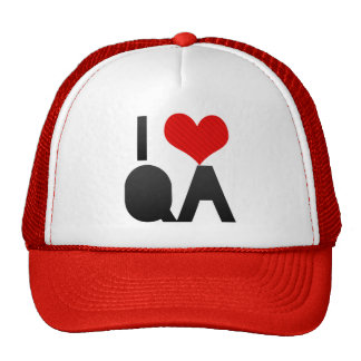 I Love QA Cap
