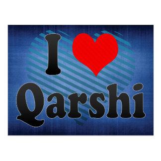 I Love Qarshi, Uzbekistan Postcard