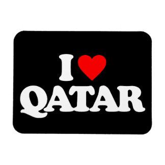 I LOVE QATAR FLEXIBLE MAGNET