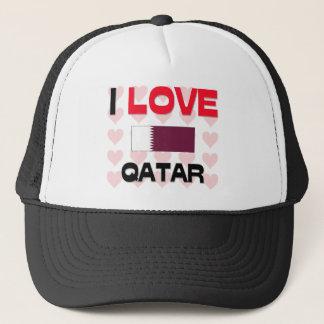 I Love Qatar Trucker Hat