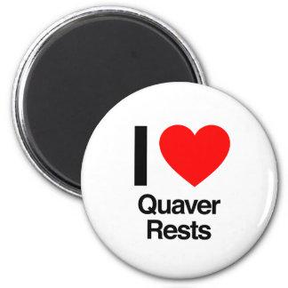 i love quaver rests refrigerator magnets