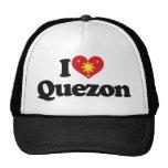 I Love Quezon Hat