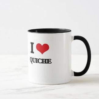 I Love Quiche Mug