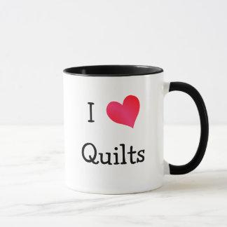 I Love Quilts Mug