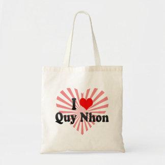 I Love Quy Nhon, Viet Nam Budget Tote Bag