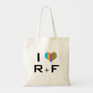I love R+F Tote Bag