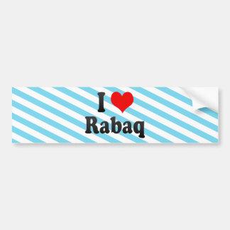 I Love Rabaq, Sudan Bumper Stickers