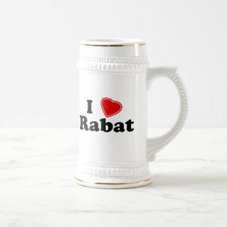 I Love Rabat Beer Stein