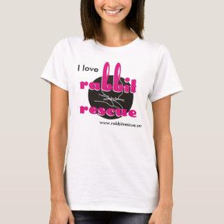 I love Rabbit Rescue T-shirt