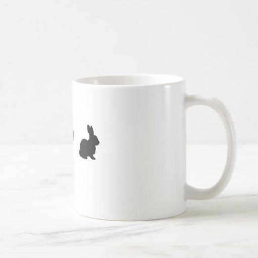 """I Love Rabbits"" Coffee Mug"