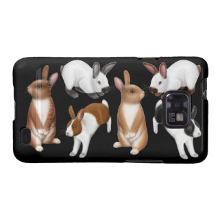 I Love Rabbits Samsung Galaxy S  Case Galaxy S2 Covers