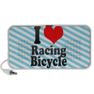 I love Racing Bicycle Laptop Speakers