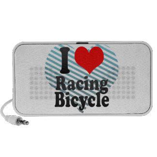 I love Racing Bicycle Notebook Speakers