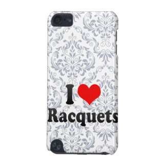 I love Racquets iPod Touch (5th Generation) Cases