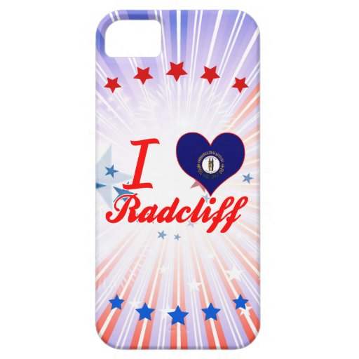 I Love Radcliff, Kentucky iPhone 5/5S Covers