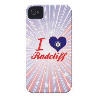 I Love Radcliff, Kentucky Case-Mate iPhone 4 Cases