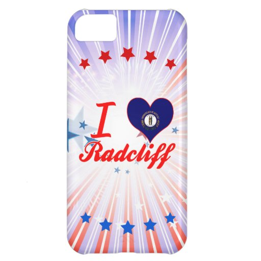 I Love Radcliff, Kentucky iPhone 5C Covers