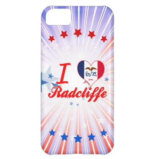 I Love Radcliffe, Iowa Cover For iPhone 5C