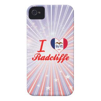 I Love Radcliffe, Iowa iPhone 4 Case-Mate Case