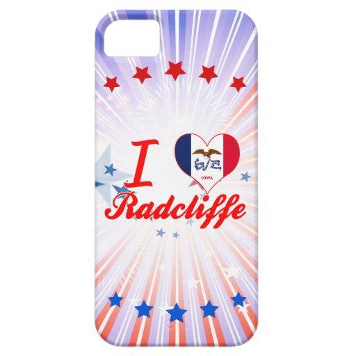 I Love Radcliffe, Iowa iPhone 5/5S Cases