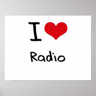 I love Radio Posters