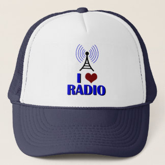 I Love Radio Trucker Hat