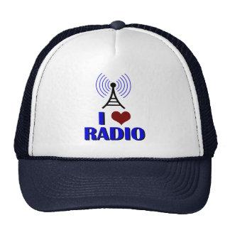 I Love Radio Trucker Hats