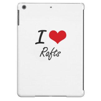 I Love Rafts iPad Air Cases