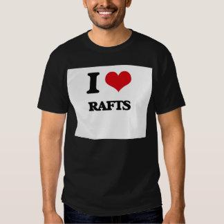 I Love Rafts Shirts