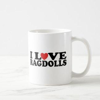 I Love Ragdoll Cats Coffee Mug