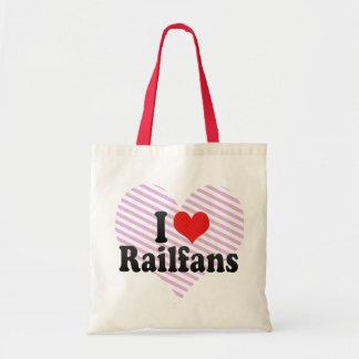 I Love Railfans Bags