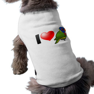 I Love Rainbow Lorikeets Shirt